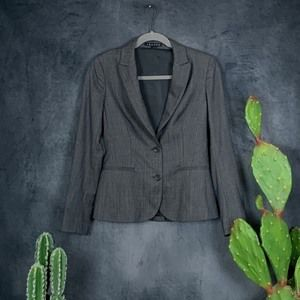 Theory Forlain/Runway Wool 2-button Blazer 2  G601